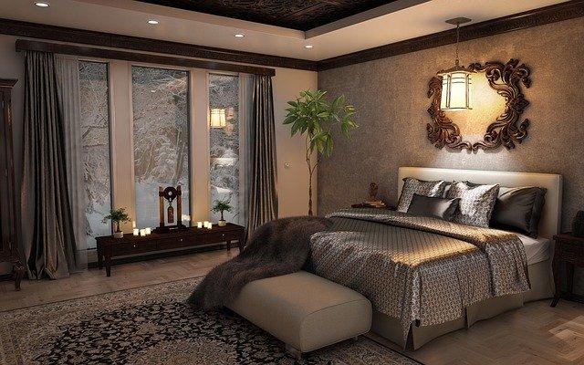 designová ložnice